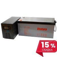 Инвертор(ИБП) Энергия Гарант 10000 ВА + Аккумулятор Ventura 12В - 200 Ач